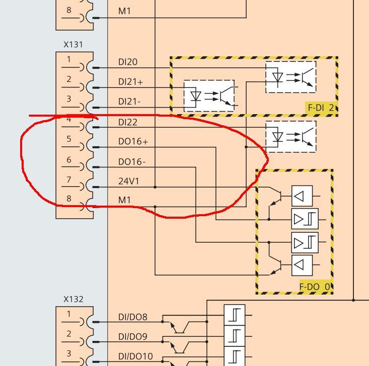 请问如图的s110输出端子该怎么接线?