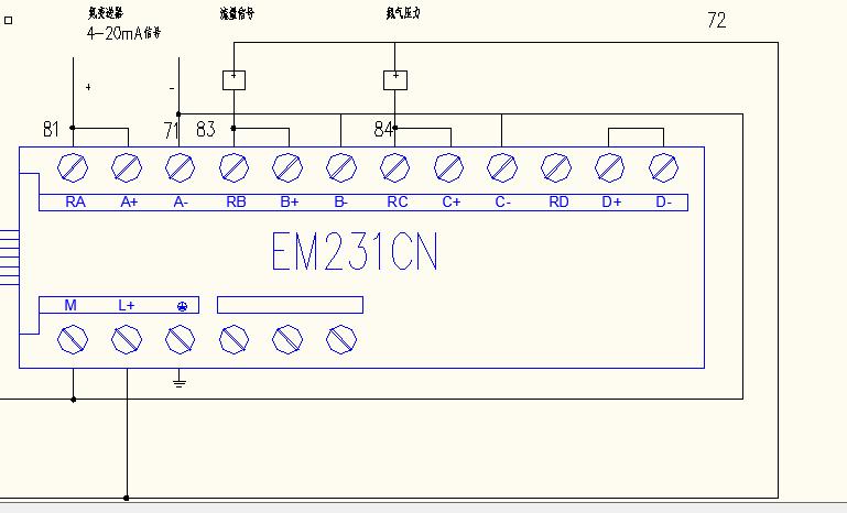 问题补充: 三个模拟量的信号都是4-20ma的  ,今天检查一下午了  接线