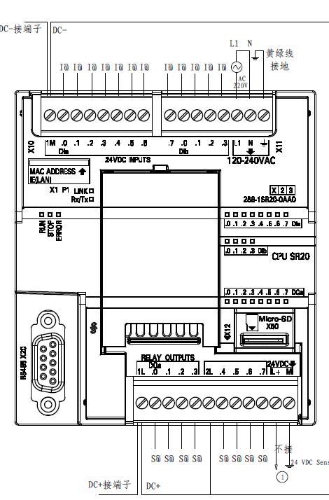 想找s7-300和s7-1500cpu和dio模块的cad接线图,希望大家多多帮助 - 已